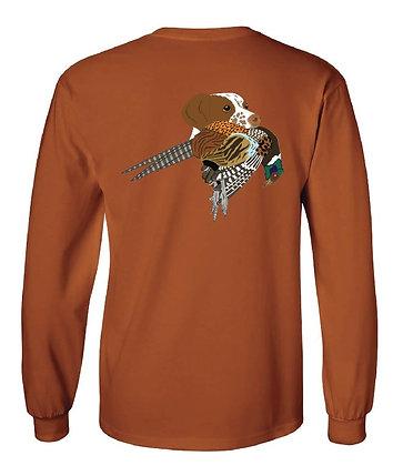 Brittany Spaniel Pheasant T-Shirts