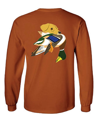 Kansas Yellow Lab/Mallard T-Shirt