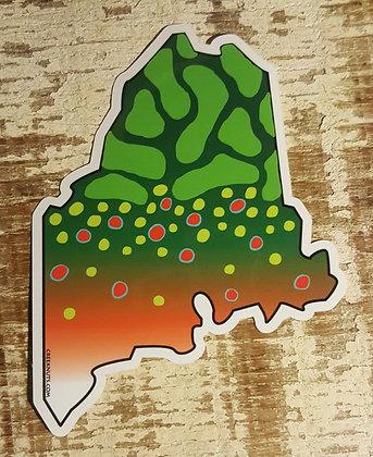 Brook Sticker - Maine