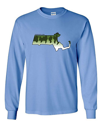 Massachusetts Largemouth Bass Skin T-Shirt