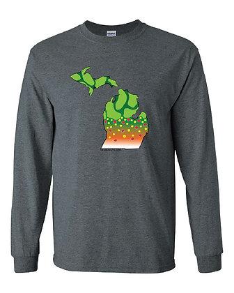 Michigan Brook Trout Skin T-Shirt