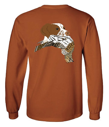 Michigan Brittany Spaniel/Grouse T-Shirt