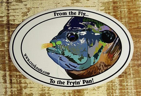 Bluegill Fryin' Pan Sticker
