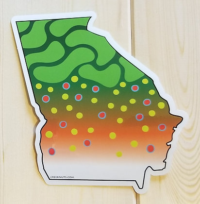 Brook Sticker - Georgia
