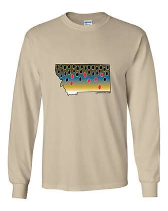 Brown Trout State Skin T-Shirts