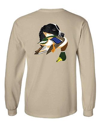 Black Springer Spaniel Mallard T-Shirts