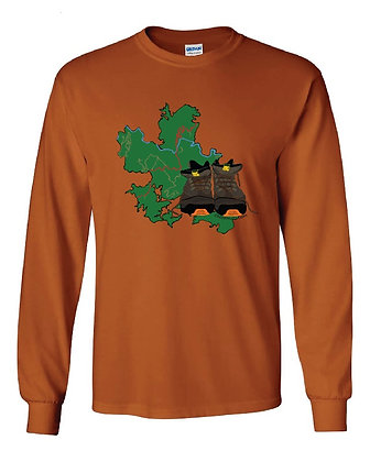 Red River Gorge Hiking Boot T-Shirts