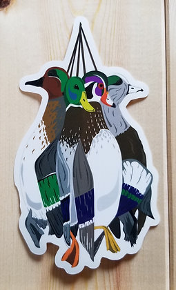 Mixed Bag Duck Hunt Stickers
