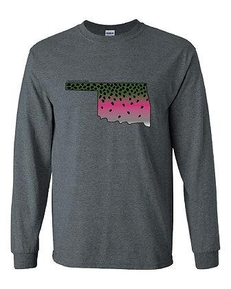 Oklahoma Rainbow Trout Skin T-Shirt