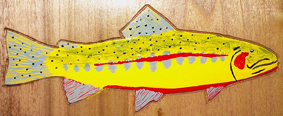 Hand-Painted Golden Trout