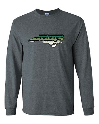 North Carolina Striper Skin T-Shirt