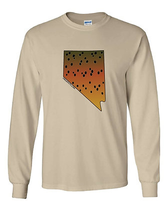 Nevada Lahontan Cutthroat Trout T-Shirt