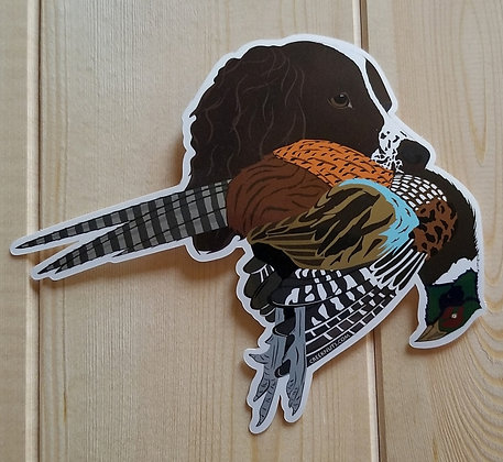 English Springer Spaniel w/Pheasant Sticker