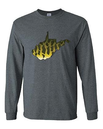 West Virginia Smallmouth Skin T-Shirt