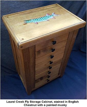 The Laurel Creek Fly Storage Cabinet