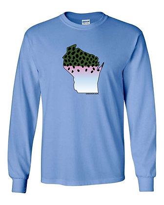 Wisconsin Steelhead Skin T-Shirt