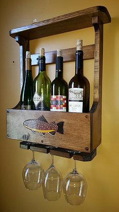 4-Bottle Wine Rack