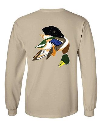 Black Lab Mallard T-Shirts