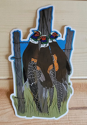 Pheasant Hunt Sticker