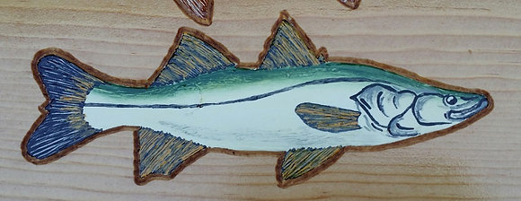 Hand-Painted Snook