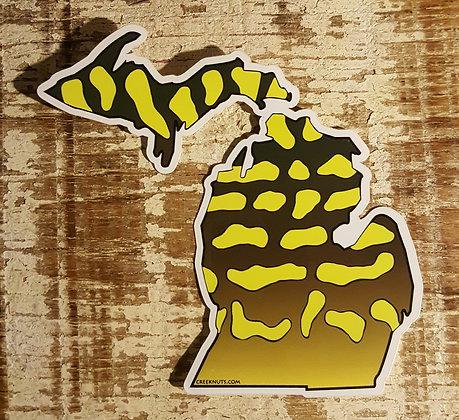 Pike Sticker - Michigan