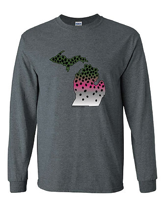 Michigan Rainbow Trout Skin T-Shirt