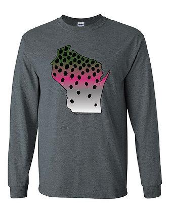 Wisconsin Rainbow Trout Skin T-Shirt