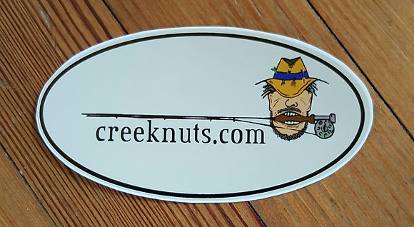 Creeknuts Logo Sticker