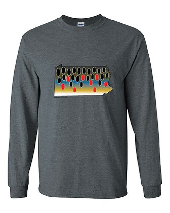 Pennsylvania Brown Trout Skin T-Shirt