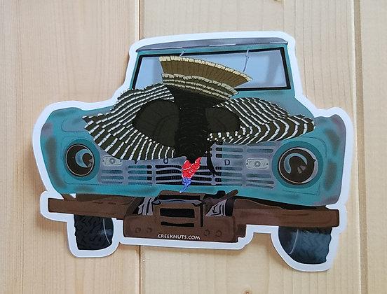 Turkey Hunt Sticker