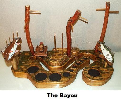 The Bayou Fly-Tying Desk