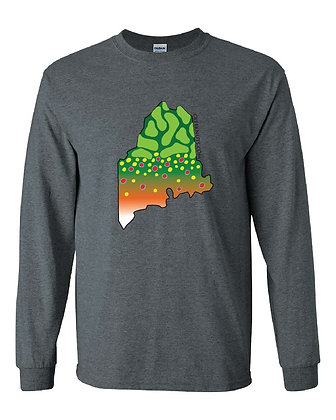 Maine Brook Trout Skin T-Shirt