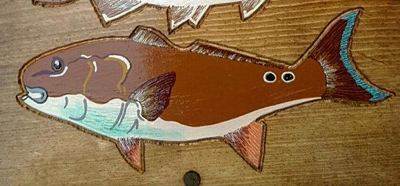 Hand-Painted Redfish