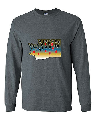 Washington Brown Trout Skin T-Shirt