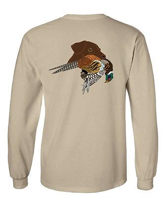 Chocolate Lab Pheasant T-Shirts