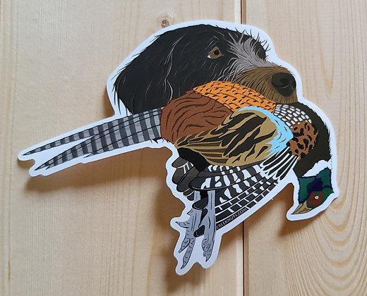 Griffon w/Pheasant Sticker