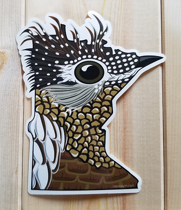 Minnesota Grouse Sticker