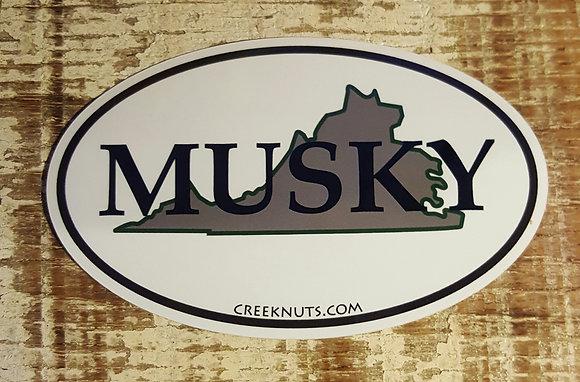 Virginia Classic Musky Oval