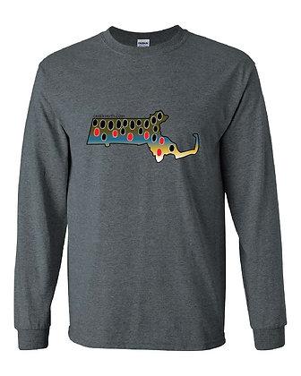 Massachusetts Brown Trout Skin T-Shirt