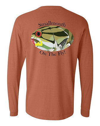 Smallmouth on the Fly! LS T-Shirt