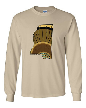 Mississippi Turkey Pattern T-Shirt