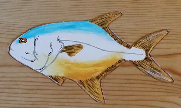 Hand-Painted Permit