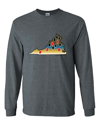 Virginia Brown Trout Skin T-Shirt