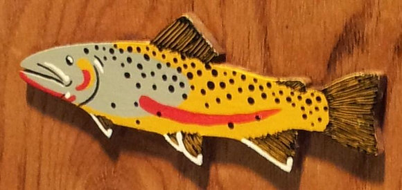 Painted Cutthroat Trout