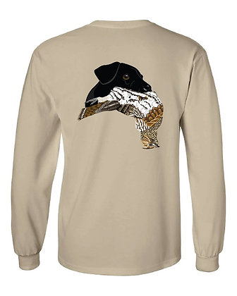Black Lab Grouse T-Shirts