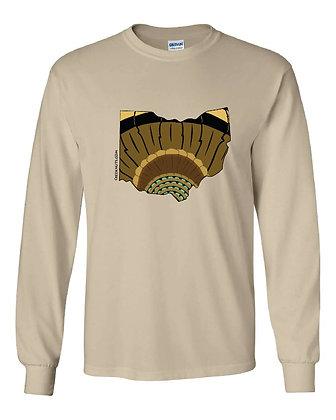 Ohio Turkey Pattern T-Shirt