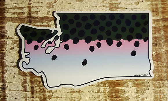 Steelhead Sticker - Washington