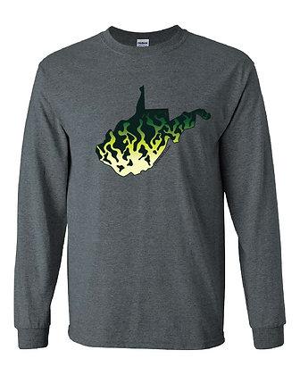 West Virginia Crappie Skin T-Shirt