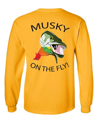 Minnesota Musky on The Fly! T-Shirt