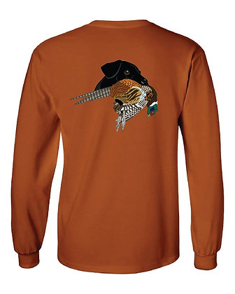 Black Lab Pheasant T-Shirts